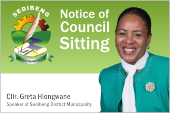 Council Sitting Notice